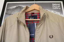 Fred Perry Funnel Neck Cotton Men's Coats & Jackets