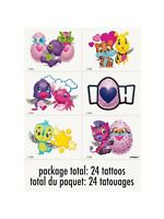 Hatchimals Temporary Tattoos 24 Pack Party Bag BNIP Birthday Loot Supplies