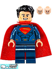 100% LEGO Superman w/jumper Plate 76087 Flying Fox: Batmobile Airlift Attack