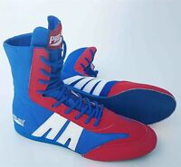 Pro Box Junior Boxing Boots Kids Boys Girls Blue Red Gym Training Sparring Shoes