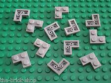 LEGO 12 MdStone corner plates ref 2420 / set 10225 10185 10240 10233 10174 9493