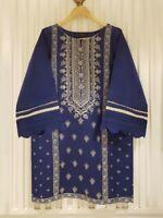Original Agha Noor Embroidered Shirt/Kurta Medium Size.