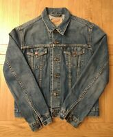 Levi's Denim Jacket Size L Biker Trucker Women's Oversized Large Vintage 90s