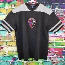 Vintage Polo Sport Ralph Lauren Mens Rare Crest Logo Patch Shirt Large