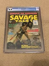 Savage Tales #2 Cgc 8.5 Red Nails Adaptation Begins Conan King Kull White Pages Comics Other Bronze Age Comics