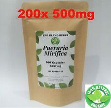 200 gélules 100% Pueraria Mirifica poudre bio halal
