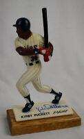 Kirby Puckett Signed Vintage 1988 Kondritz Baseball Statue JSA Twins