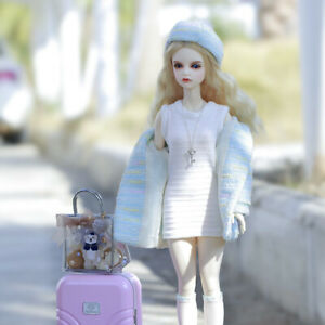 New clothes Hair shoes For 1/4 BJD Doll iple jid weigert