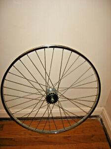 "Vintage Bicycle 26"" x 1 3/8 Chrome Rear Rim 3-Speed Hub Shimano"
