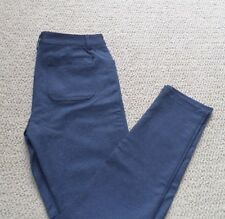 NEW SIZE 8 NAVY WOMEN'S ANDREW MARC PONTE STRETCH PANT SEMI FITTED TAPERED LEG