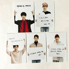 SM TOWN SUM Cafe SHINee Happy 9th Year Anniversary Snack Bag Photocard Full Set