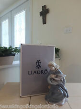Lladro Nativity Virgin Mary # 1387 Old Rare Set Mint With Box L@K! Fast Ship!