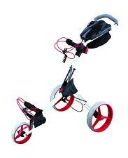 Big Max IQ+ Golftrolley  - Farbe: weiß - rot , Neu!