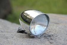 Retro Fahrrad Lampe Frontleuchte Chrom Dynamo Beleuchtung Scheinwerfer Nostalgie