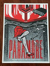 Paramore Show Poster