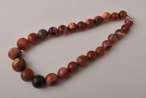 Antique Carnelian Agate beads-trade beads strand-middle eastern