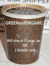 Authentic 2 POUND Jar Virgin African Black Soap ORGANIC Natural RAW Paste 32oz