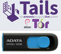 Tails Linux 4.17 32 Gb USB 3.2 Drive Safe Fast Secure Live Bootable Anonymous