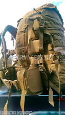 USMC Molle ll FILBE Marine Coyote Rucksack Back Pack Straps Belt Pouches