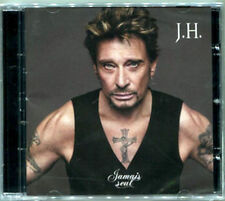 """GOLD RUSSIAN CD made specially for MOSCOW concert  JOHNNY HALLYDAY""""Jamais Seul"""""""
