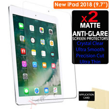 "2x ANTIGLARE MATTE Screen Protector Cover Guards for Apple iPad 9.7"" 2018"