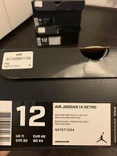 Air Jordan 14 Wolf Grey Size 12