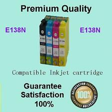 4x Ink Cartridge Epson 138N for Workforce 60 435 525 545 625 630 633 645 840 845