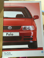 VW Polo range brochure 1998 model year pub Feb 1998