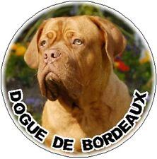 2 Dogue de Bordeaux Car Stickers By Starprint