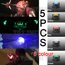 5 X HIGH QUALITY MG 1/100 RX78 00R GUNDAM LED LIGHT RED BLUE YELLOW GREEN WHITE