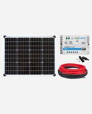 enjoysolar® Solar Set Basic SET Monokristallin 50Watt 12V LS1024EU Wohnmobil