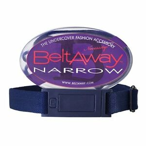 Beltaway NARROW Woman's Flat Buckle Belt