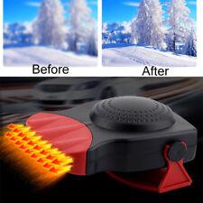 Portable Car Ceramic Heater Heating Cooling Fan Defroster Demister 12V 500W New