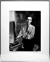 DAVE TOUGH PHOTO THE GOLDEN AGE OF JAZZ WILLIAM P. GOTTLIEB SIGNED PRINT