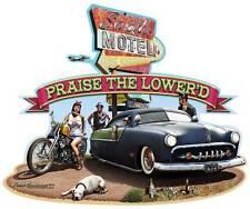 Hot Rod Sands Motel Lower'd Metal Sign Man Cave Garage Body Shop Club Barn Lg024