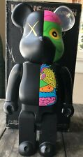 Kaws Dissected Companion: 400% Bearbrick (Black)