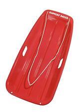 Slippery Racer Downhill Sprinter Snow Sled Toboggan RED