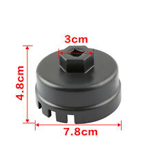 64MM 14Flute Oil Filter Cap Wrench Remover Tool For Toyota Corolla Sequoia Lexus