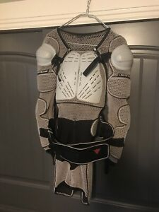 Dainese Shuttle  Armor Race Above Knee Length Suit Size L . Made In Italy