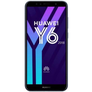 Huawei Y6 2018 16 GB + 2 GB RAM ATU-L21 Black Dual Sim Wind Come Nuovo GARANZIA