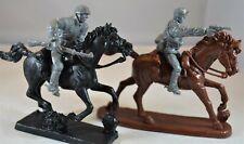 Toy Soldiers of San Diego TSSD WWII German Elite Riders Horses Gray Set 11HR