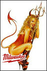2-pack Milwaukee Dewalt Craftsman Tools Sticker Hot Rod Rat Fink Tool Box