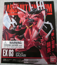 "MSN-04 Sazabi Gundam - Sealed 3-1/2"" (90mm) figure - Bandai Assault Kingdom EX03"