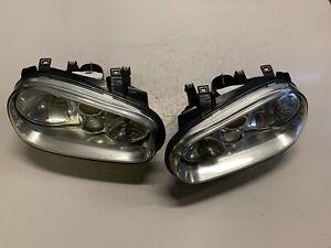 GENUINE MK4 VW GOLF GT GTI - FRONT HEADLIGHTS + FOGS - 1J2941017G / 1J2941018G
