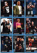 2011 Tristar TNA Signature Impact 90 Card Set AJ Styles Hulk Hogan Ric Flair