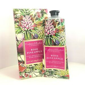 Crabtree & Evelyn Rose Pineapple Ultra Moisturising Hand Therapy 100g / 3.4oz