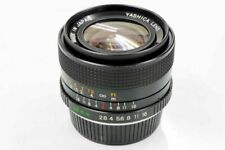 Yashica ML 28mm F2.8 Wide Angle Prime Lens Contax/Yashica Excellent Japan F/S
