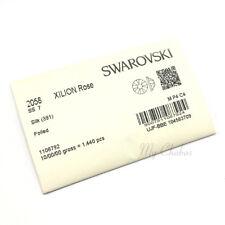 1440 Swarovski 2058 7ss crystal wholesale flatback nail art ss7 SILK (391)