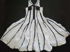 Jottum  Girls Surprise White Dark Navy Dress Sasha  Sz US 12/152 EUC
