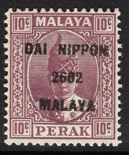 MALAYA-JAP.OCC. SGJ249 1942 10c DULL PURPLE MTD MINT